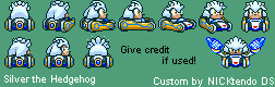 Silver (Super Mario Kart-Style)