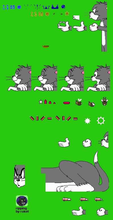 nes - tom and jerry  and tuffy  - tom