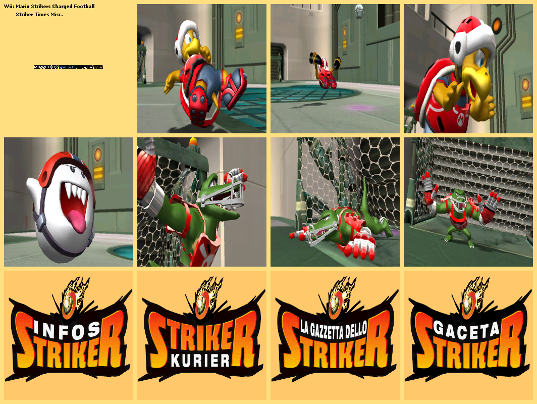 Striker Times Miscellaneous