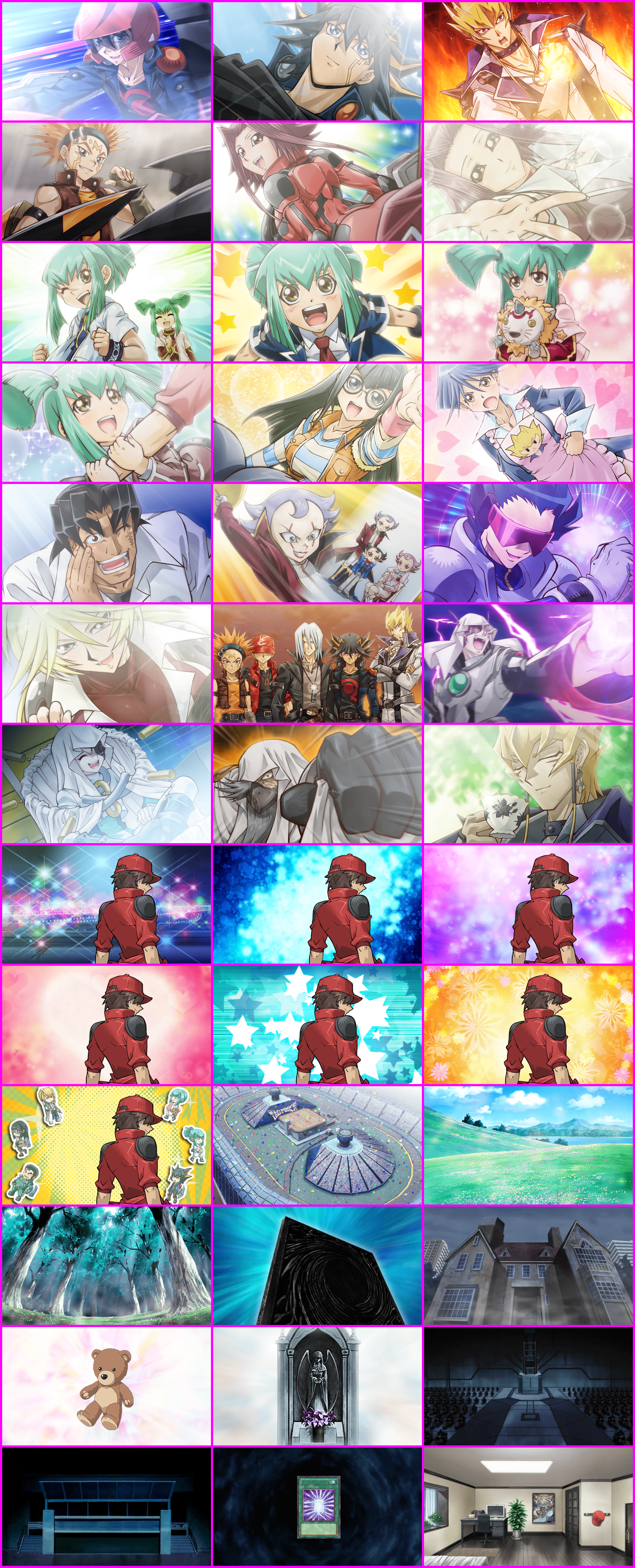 The Spriters Resource Full Sheet View Yu Gi Oh 5d S Tag Force 5 Events