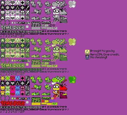 Game Boy Gbc Tetris Attack General Sprites The