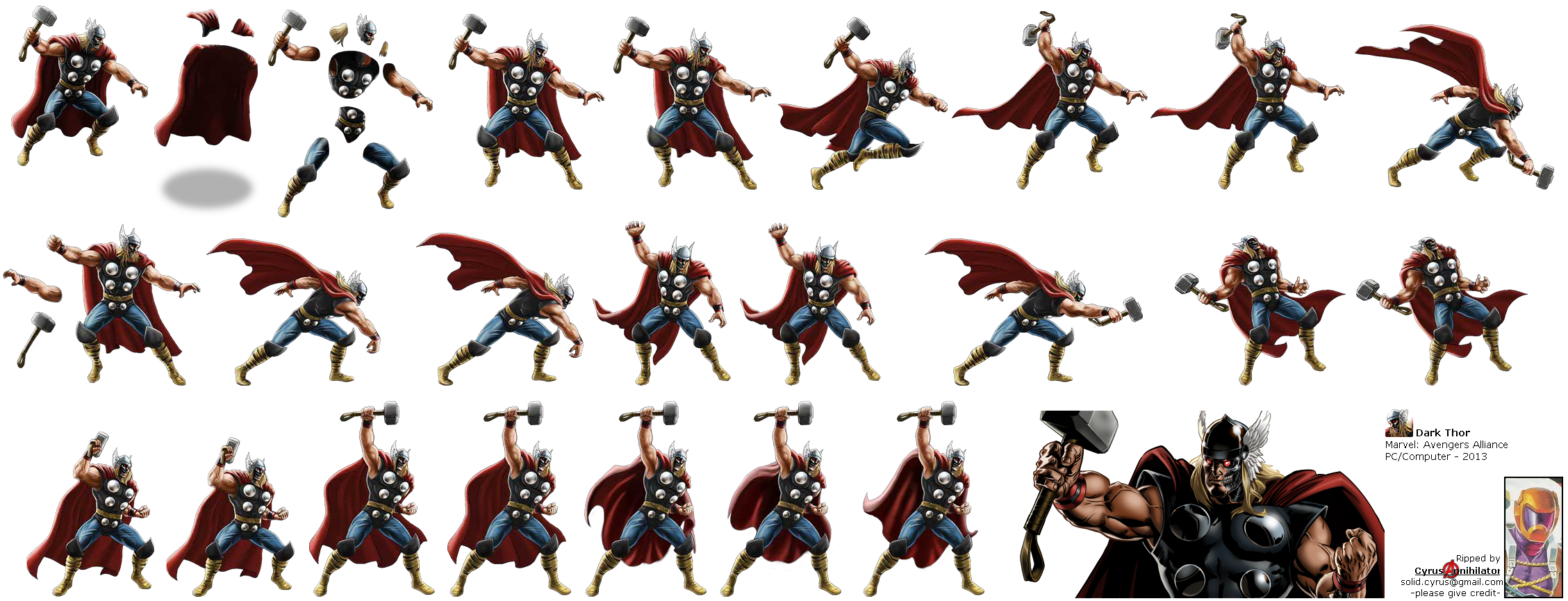 Marvel: Avengers Alliance - Dark Thor