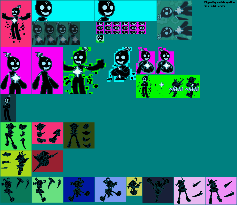 The Spriters Resource Full Sheet View Puyo Puyo 7 Ecolo