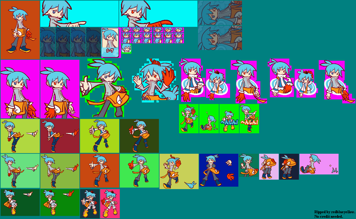 The Spriters Resource Full Sheet View Puyo Puyo 7 Sig