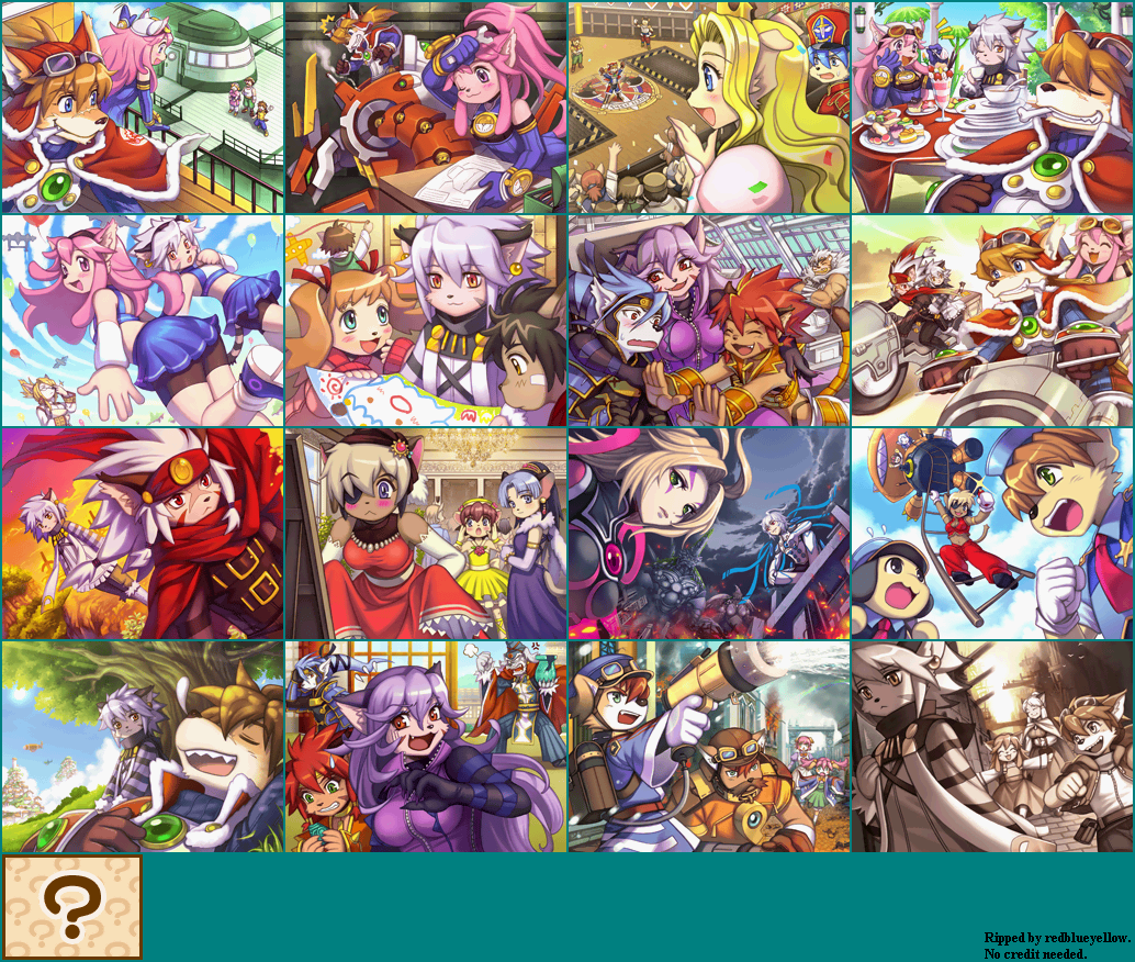The Spriters Resource Full Sheet View Solatorobo Red The Hunter Album Images