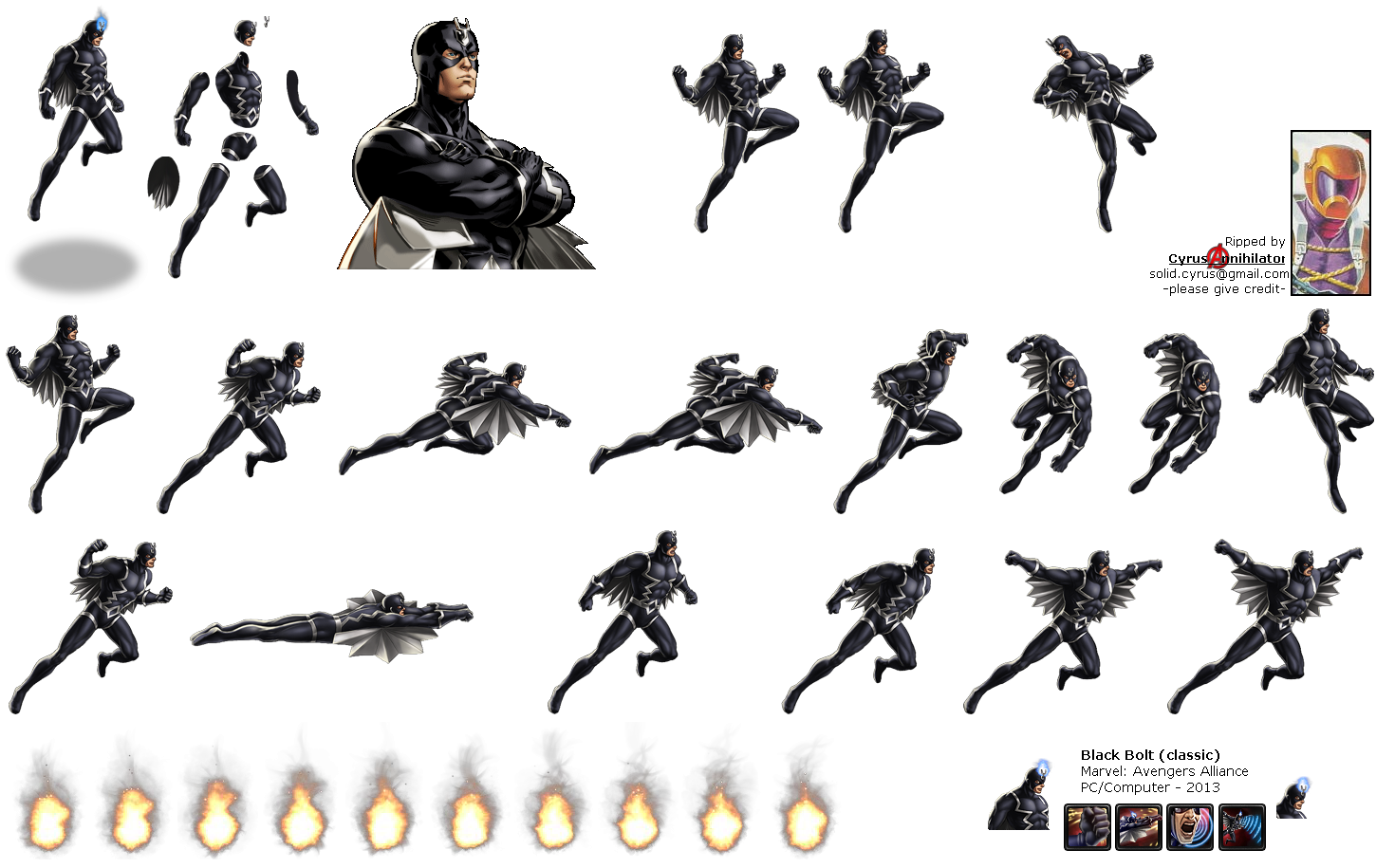 57100 pc computer marvel avengers alliance black bolt (classic marvel 13a wiring diagram at reclaimingppi.co