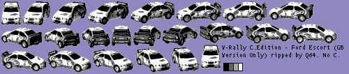 Ford Escort (Car Select) (GB Version Only)