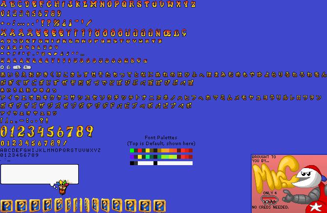 game boy advance crash bandicoot 2 n tranced font the