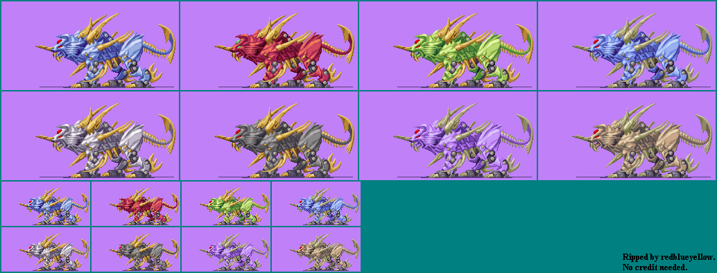 Zoids Saga DS: Legend of Arcadia - Bio Liger
