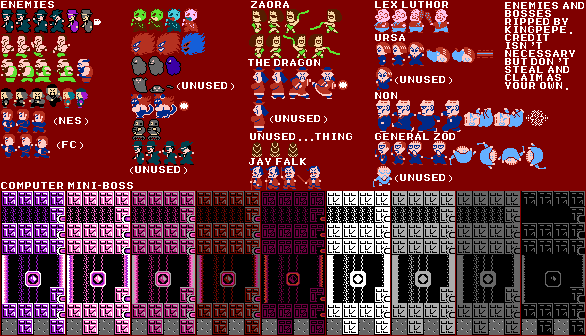 The Vg Resource Kingpepe S Palace Of Sprite Sheets