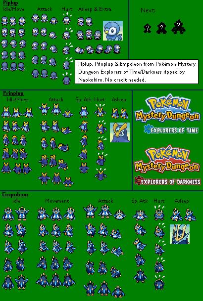 Empoleon Sprite Pokemon Empoleon Sprit...