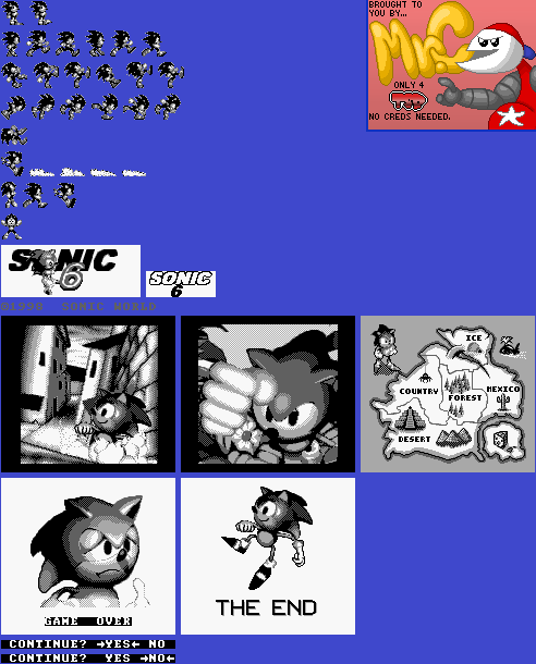 Sonic and Special Screens