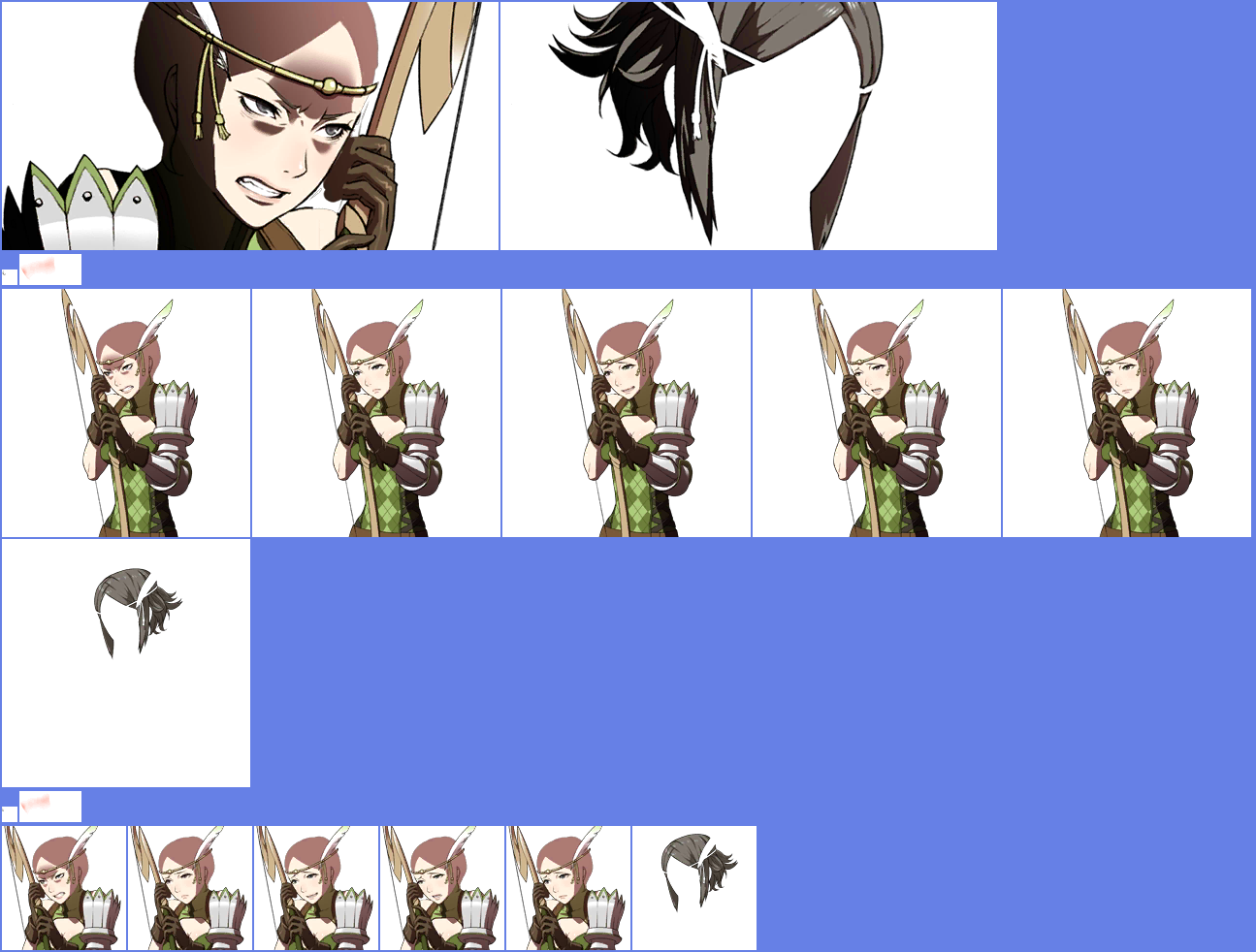 The Spriters Resource Full Sheet View Fire Emblem Awakening Noire
