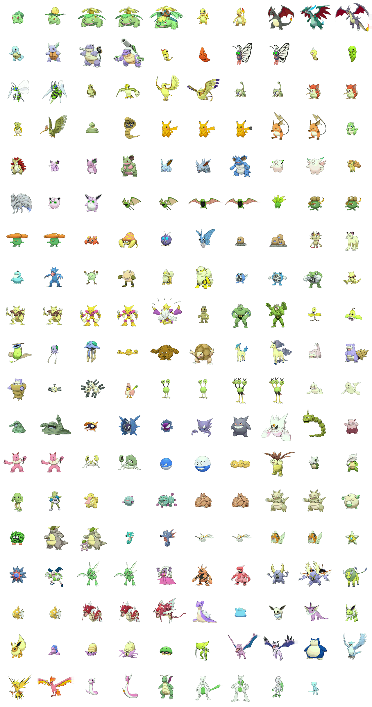 The Spriters Resource Full Sheet View Pok 233 Mon Omega