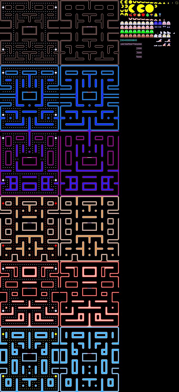 Arcade Pac Man Super Abc Hack Ultra Pac Man General