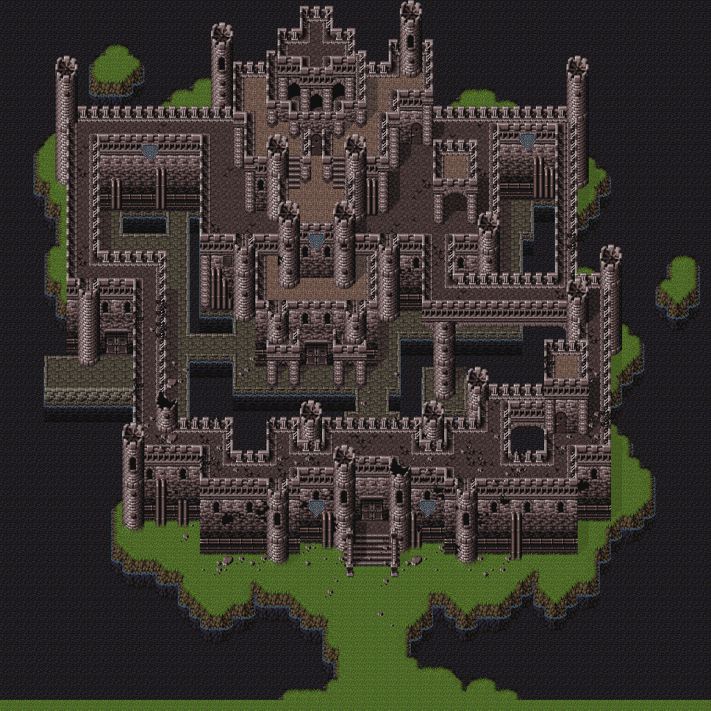 Final Fantasy 6 - Doma Castle (Exterior)