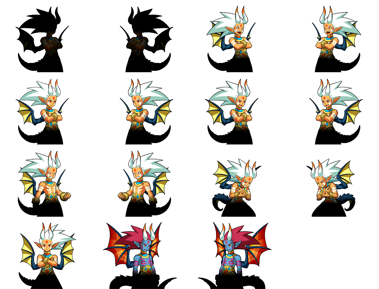 3ds Puzzle Amp Dragons Z Sin The Spriters Resource