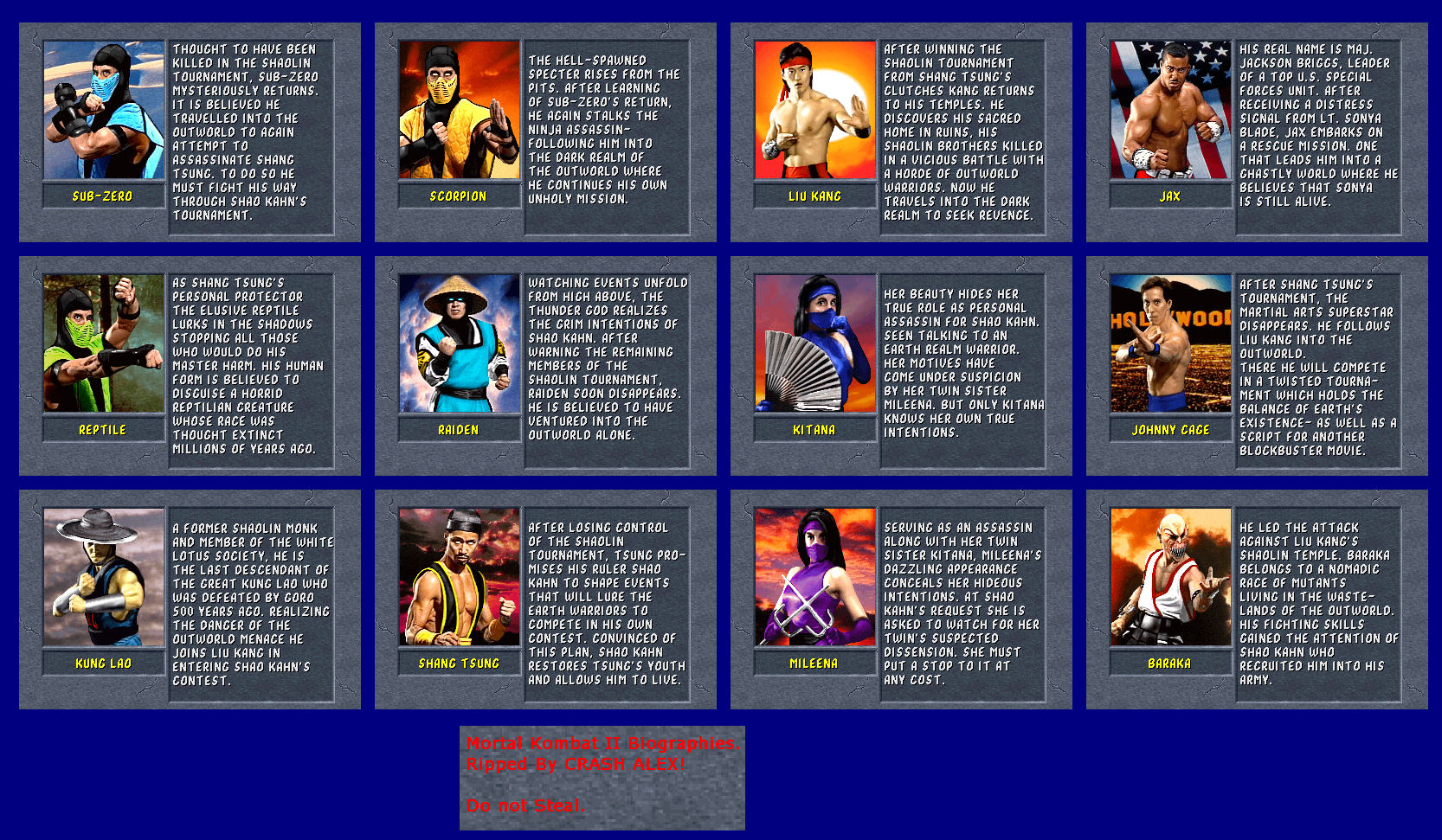 Mortal Kombat Warehouse