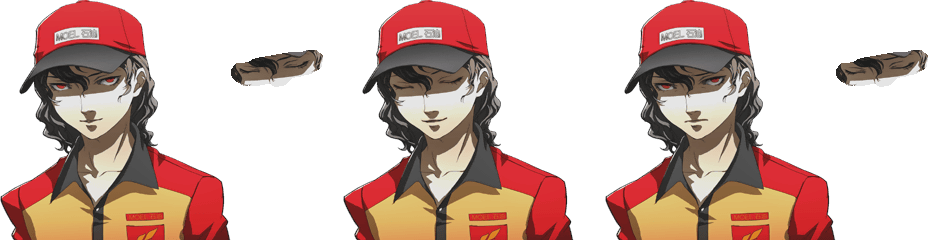 Playstation 2 Persona 4 Moel Gas Station Attendant