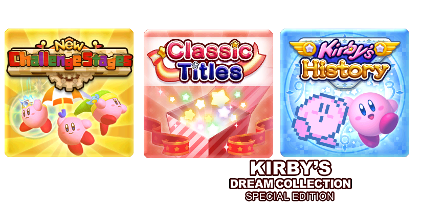Kirby's Dream Collection - Option Select