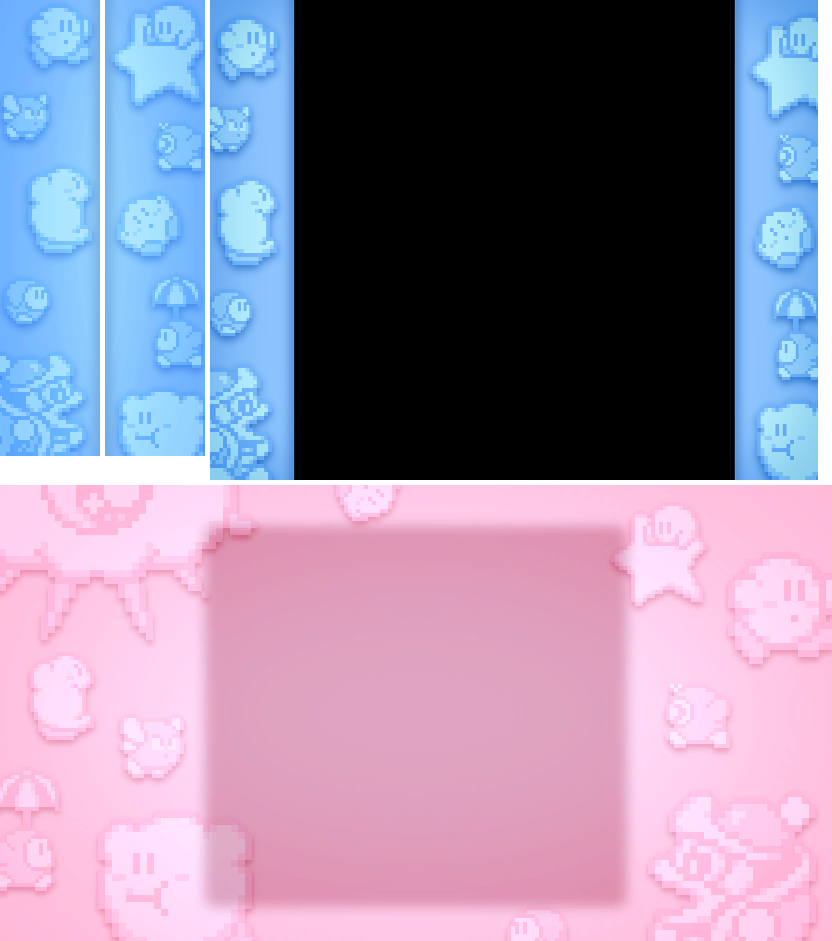Kirby's Dream Collection - Classic Games Border