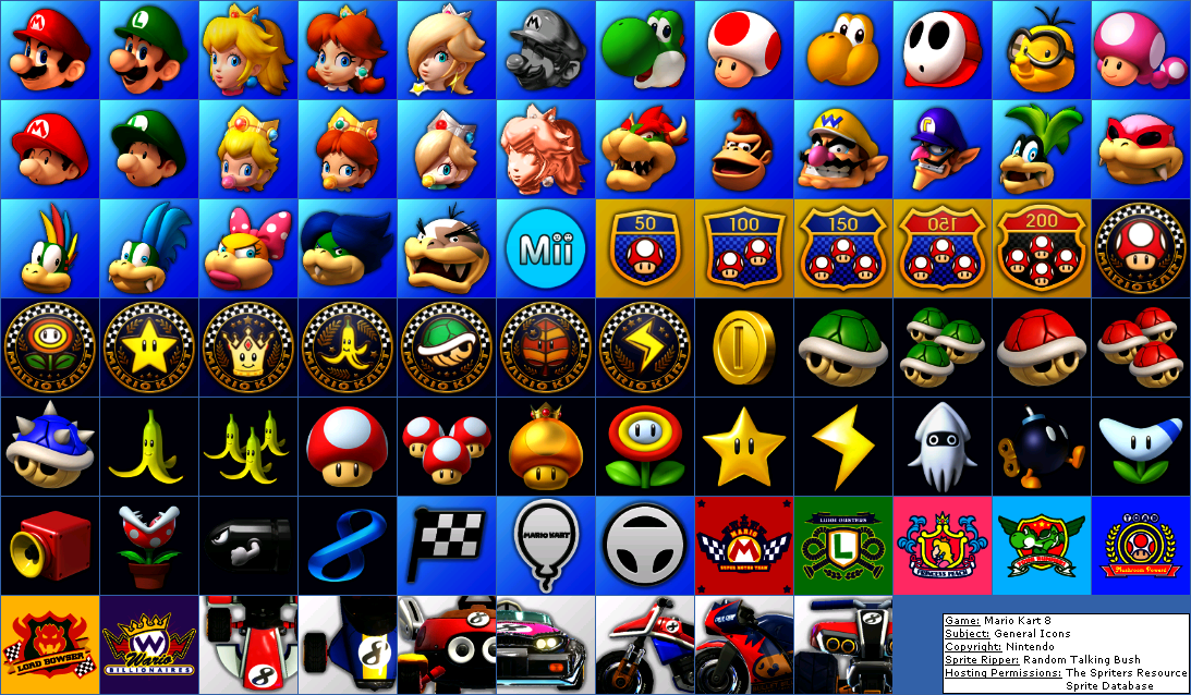 General Icons (Small)