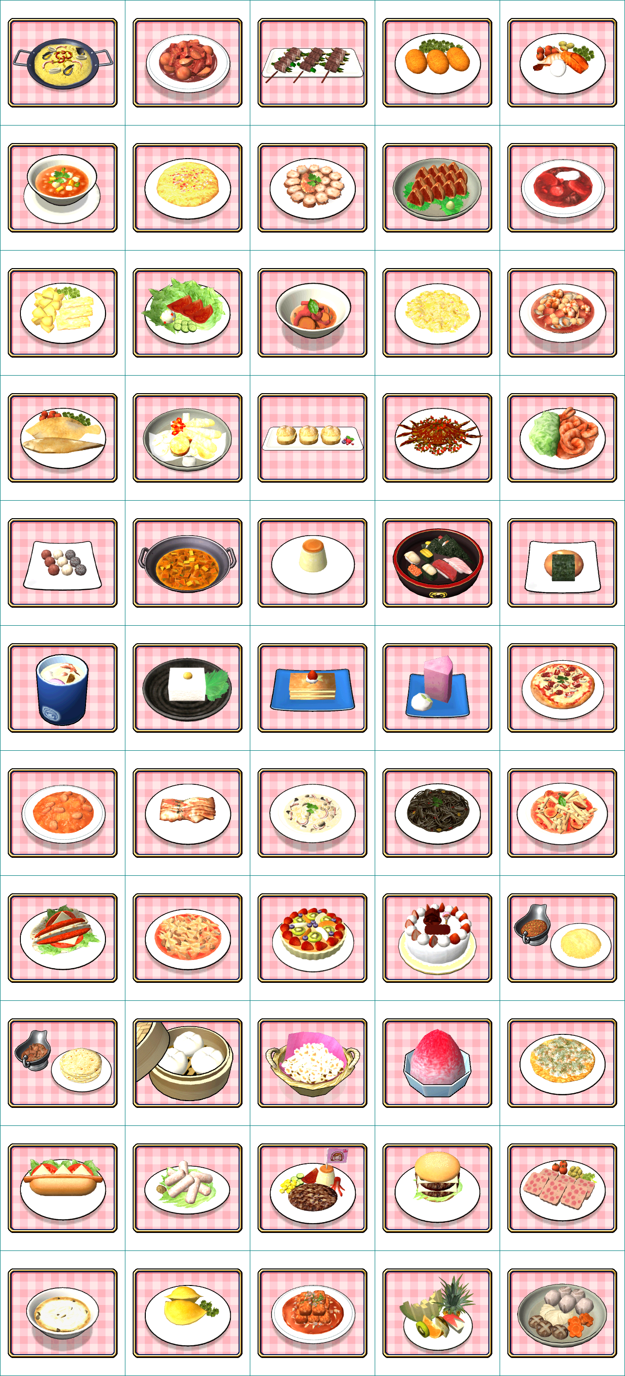 Wii cooking mama cook off food the spriters resource for Cuisine resources