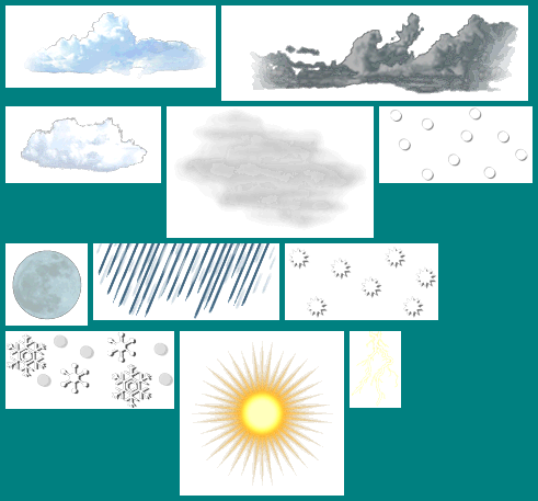 Weather Icons (International Version)