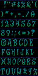 playstation 2 crash twinsanity font demo classic alternate