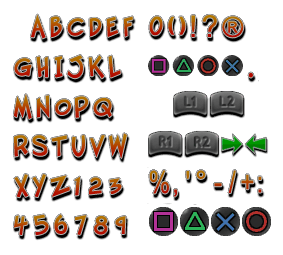 playstation 2 crash twinsanity font european the spriters