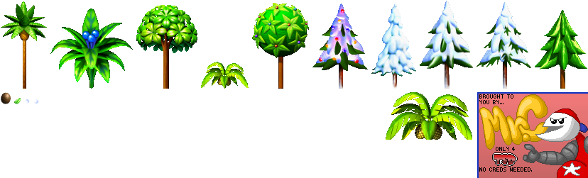 Diddy Kong Racing - Trees
