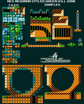 Green Hill Zone (Mega Man Style)