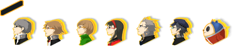 Persona 4 - Dungeon Field Icons