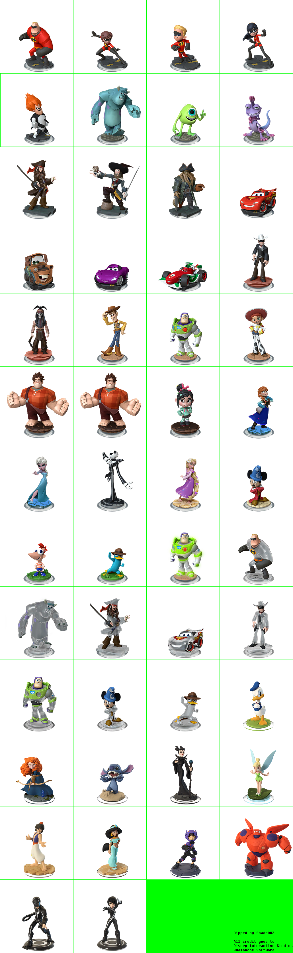 Disney Infinity 2.0 Edition: Marvel Super Heroes - Disney Character Previews (Small)