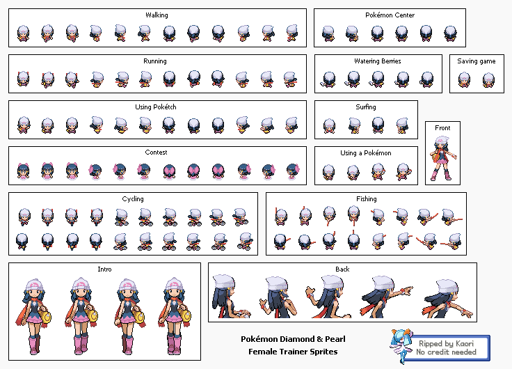 [HQ] Banco de Sprites da Pokémon Mythology 6925