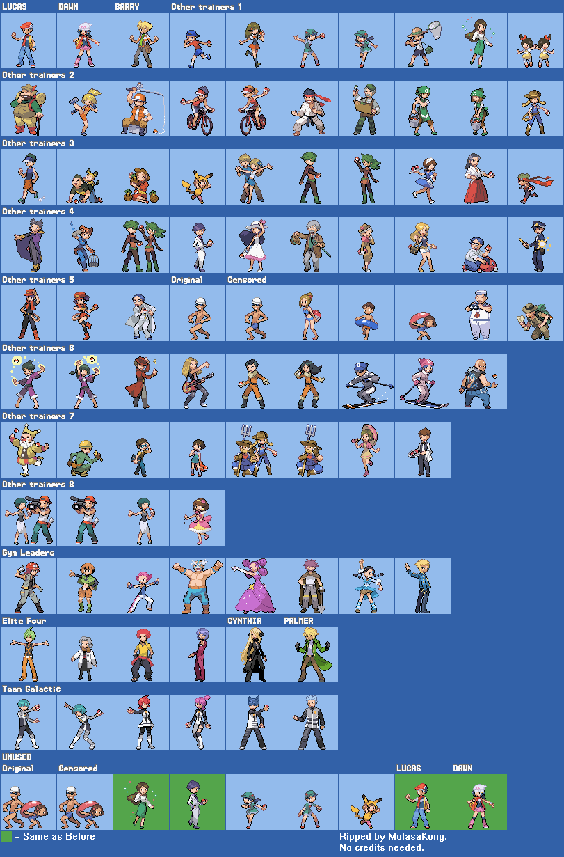 Trainer Class sprites for battles - Suggestion Box - PokeMMO