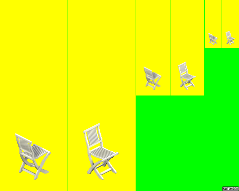 Caveat Emptor Folding Chair