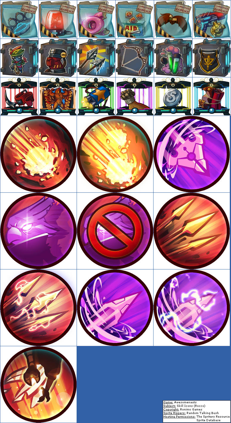 Skill Icons (Rocco)