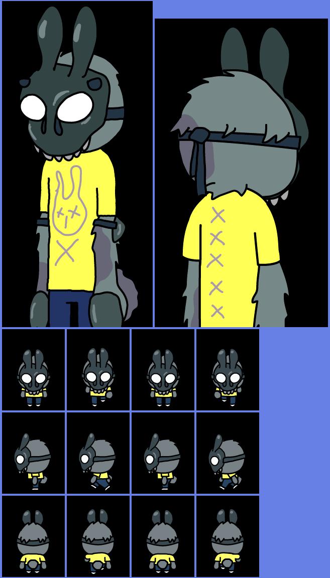 Mobile Pocket Mortys 009 Evil Rabbit Morty The