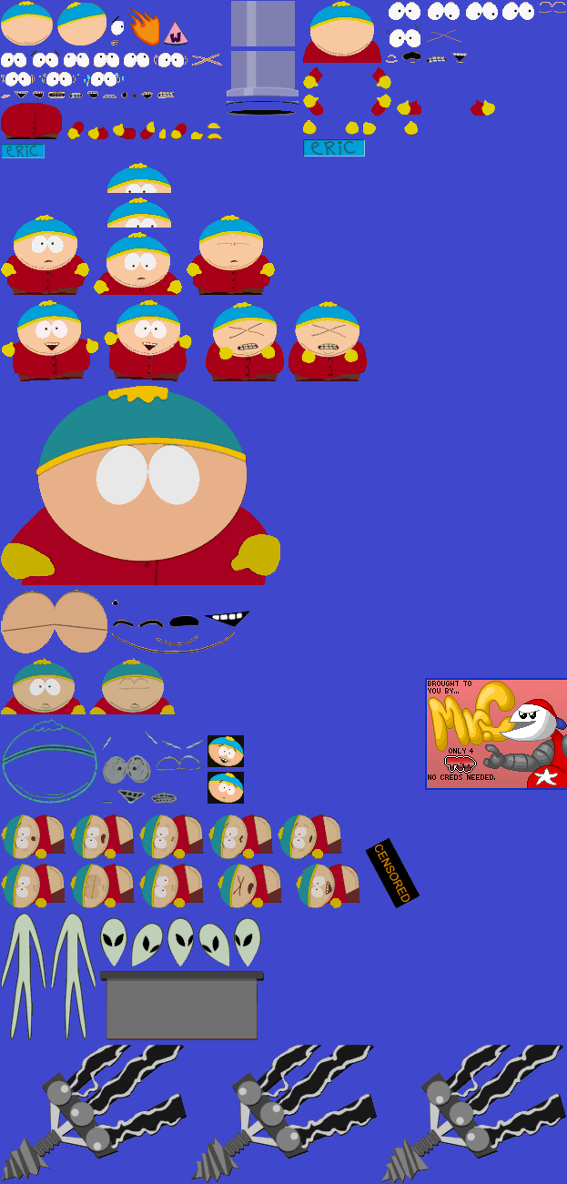 Nintendo 64 South Park Chefs Luv Shack Eric Cartman The