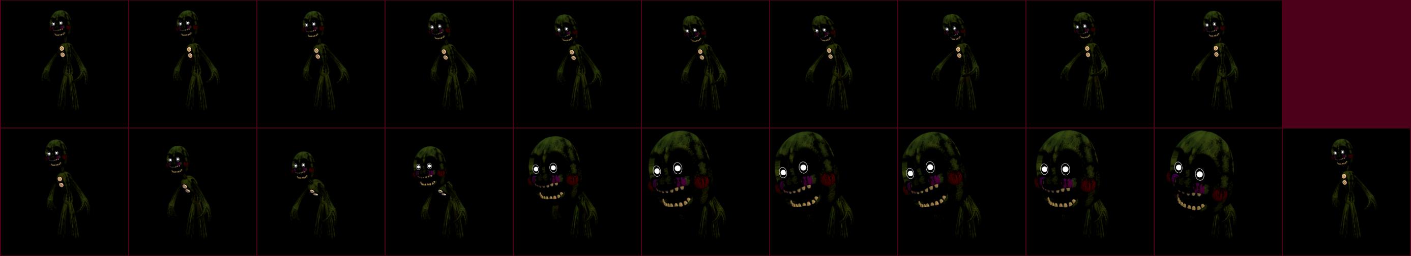 Pc computer fnaf world phantom marionette the spriters