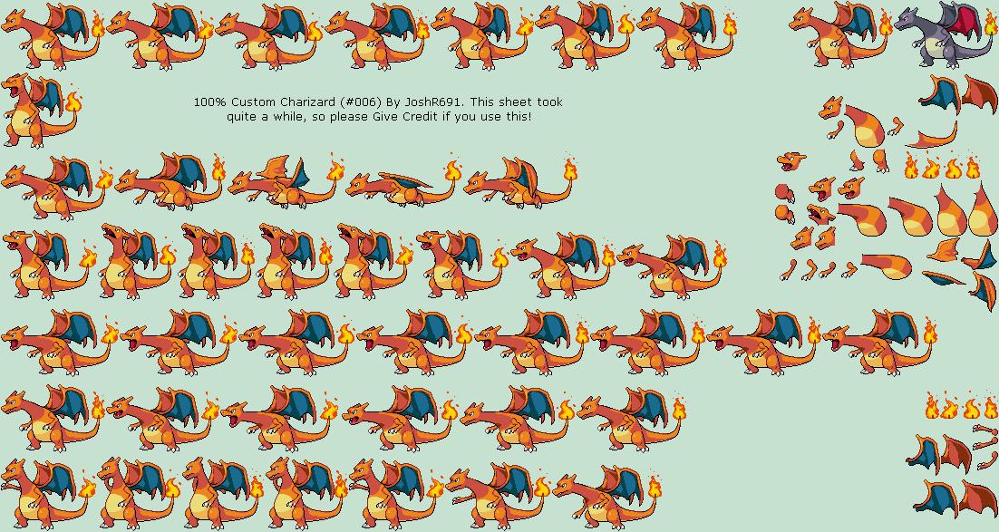 Custom / Edited - Super Smash Bros. Customs - Charizard ...