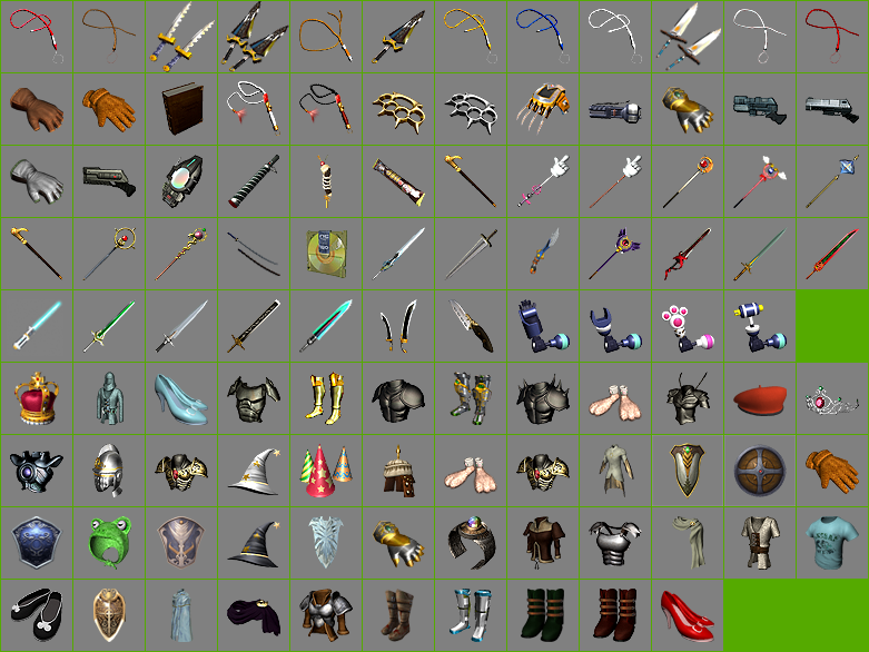 Weapon & Armor Icons