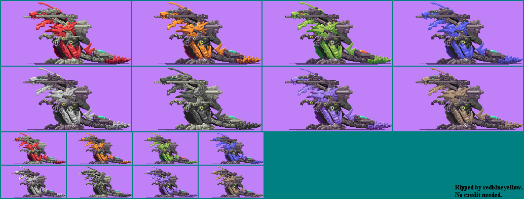 Zoids Saga DS: Legend of Arcadia - Gojulox