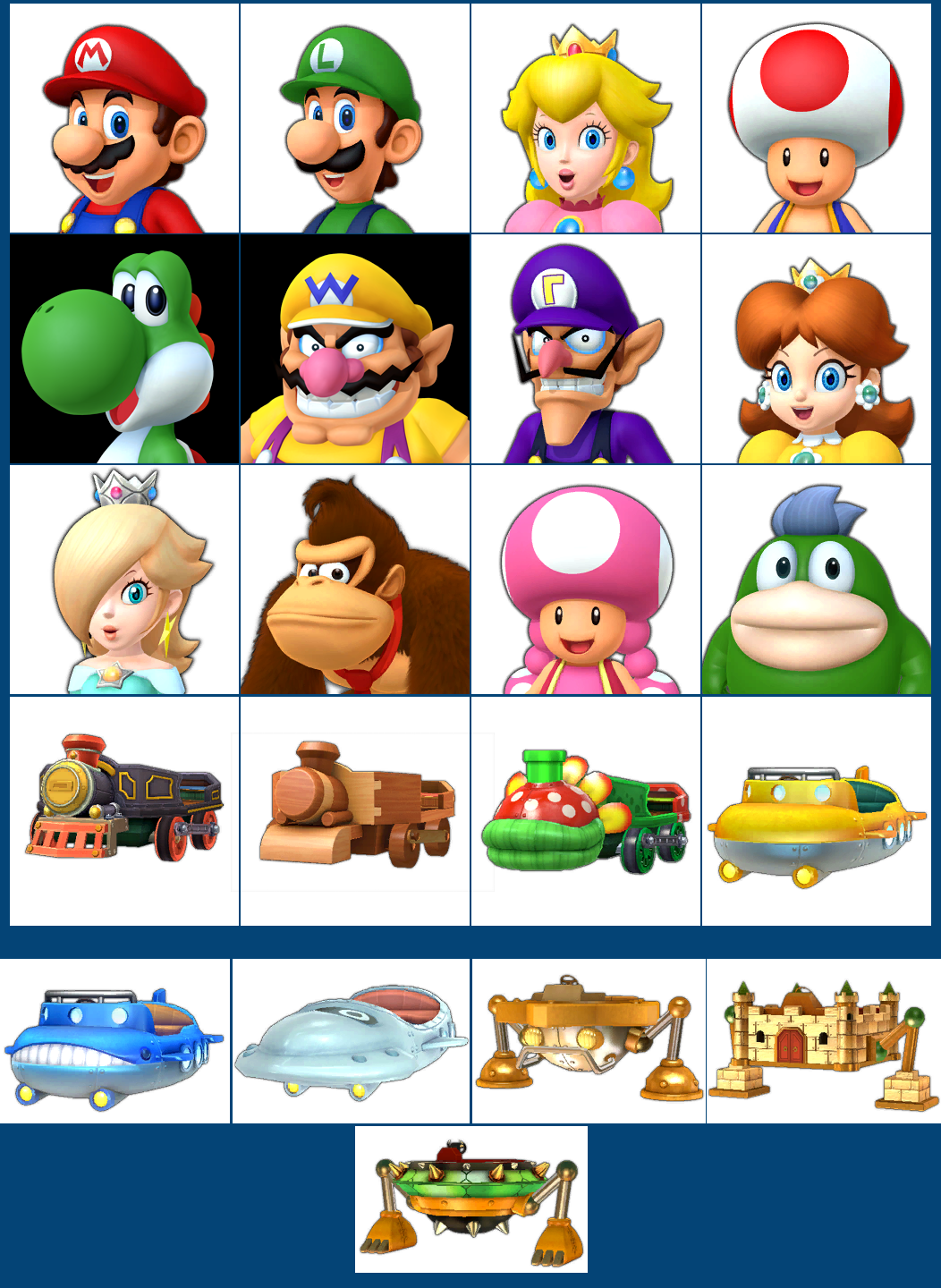 The Spriters Resource Full Sheet View Mario Party 10