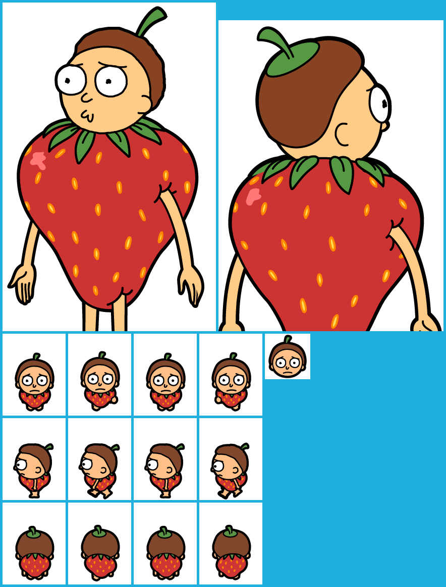 #123 Strawberry Morty