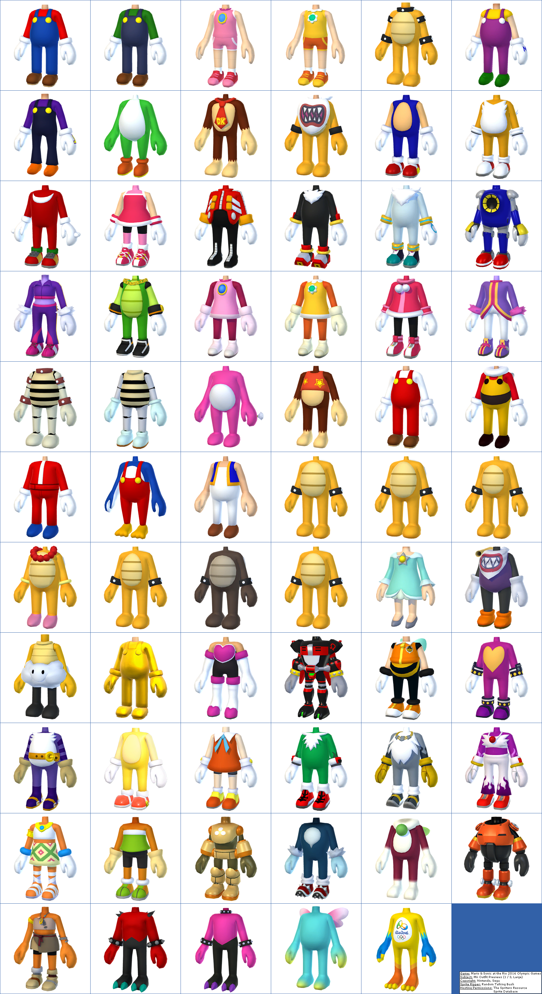 Mii Outfit Previews (1 / 3, Large)