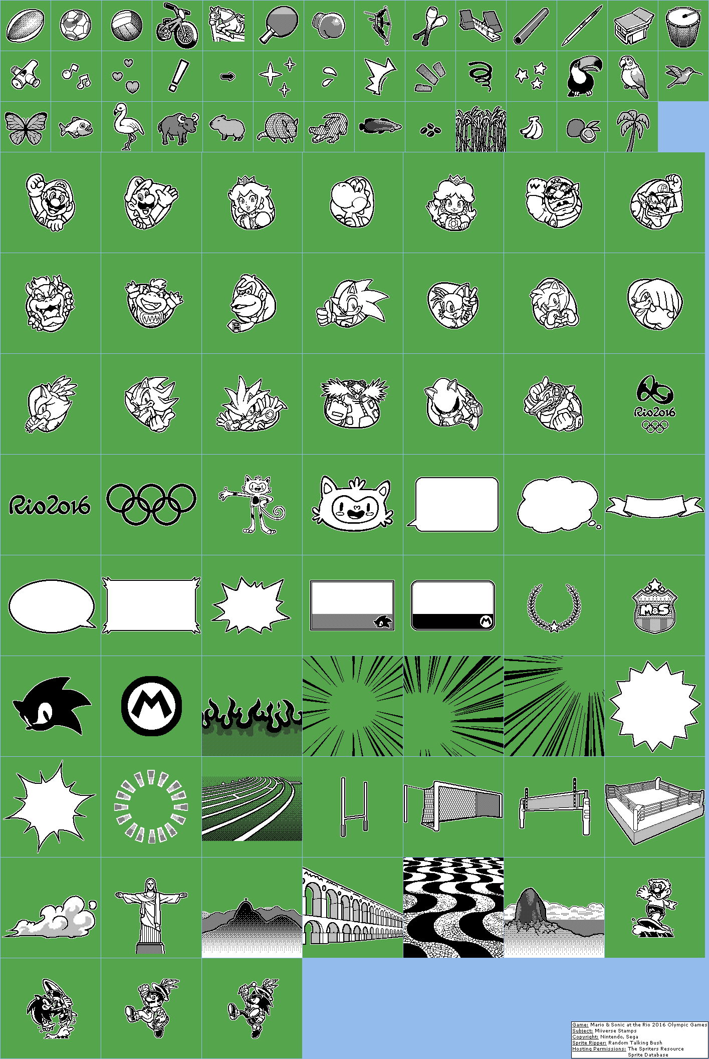 Miiverse Stamps