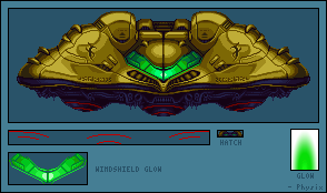 Gunship (Super Metroid Redesign)