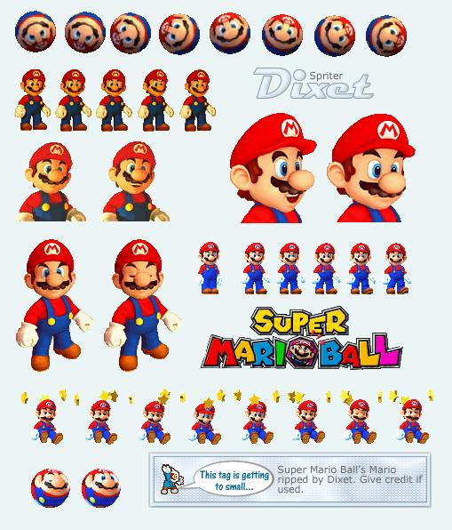Mario Pinball Land / Super Mario Ball